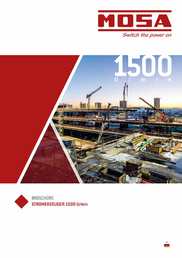 Mosa Stromerzeuger1500 DE